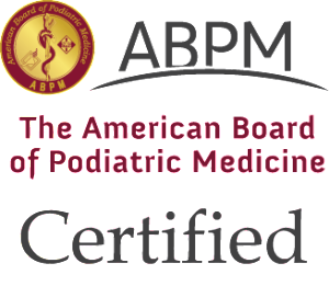 American Board of Podiatric Medicine Board Certified