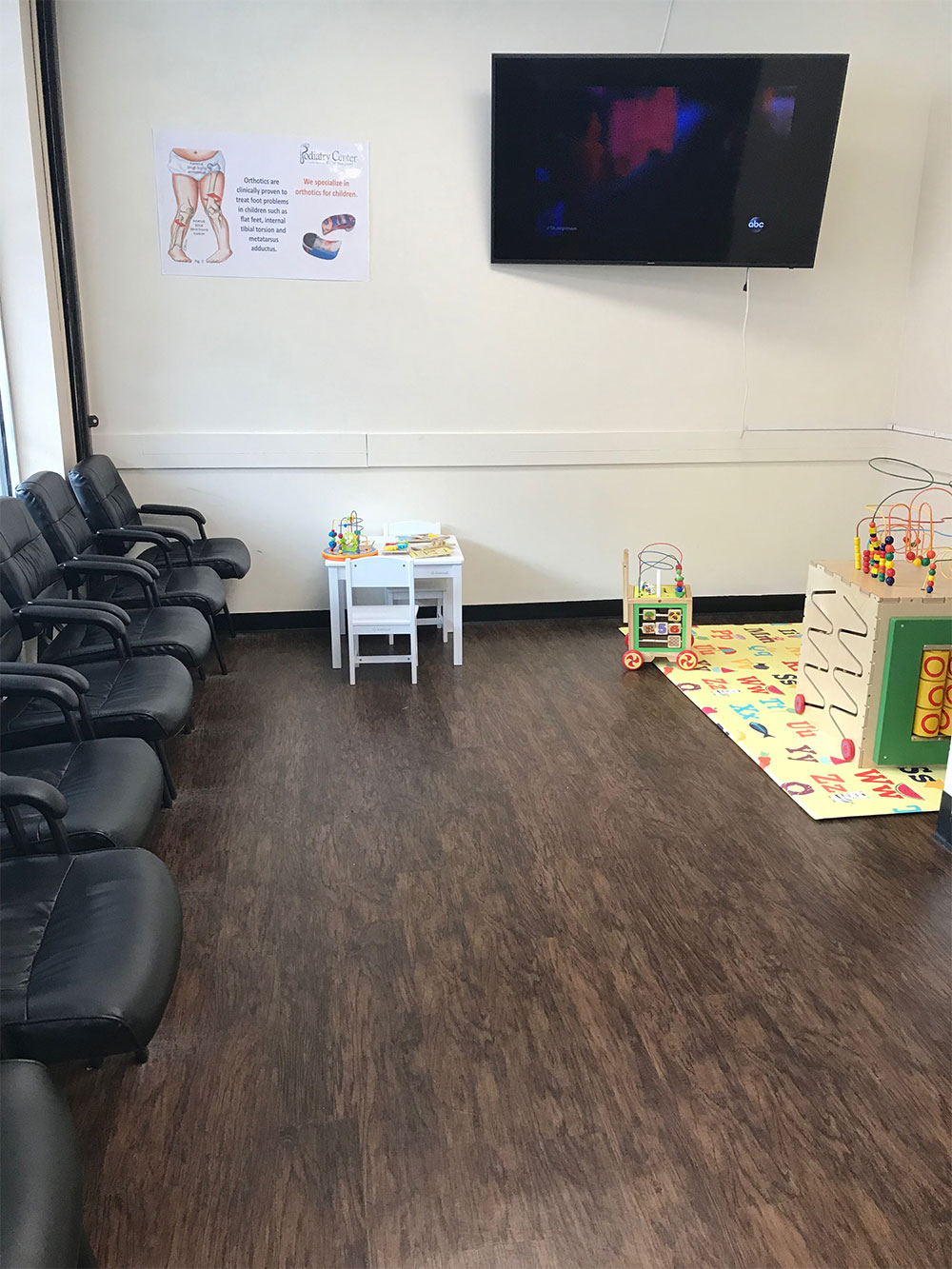 Passaic Podiatrist Waiting Kids